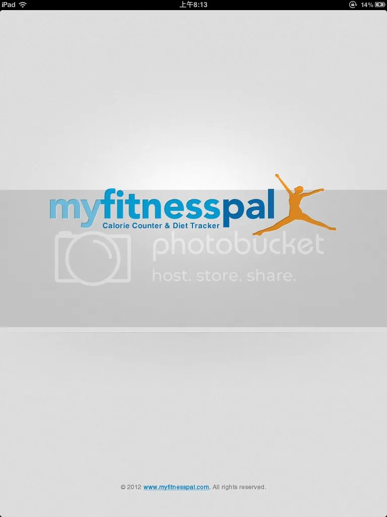 MYFitnessPal for ipad