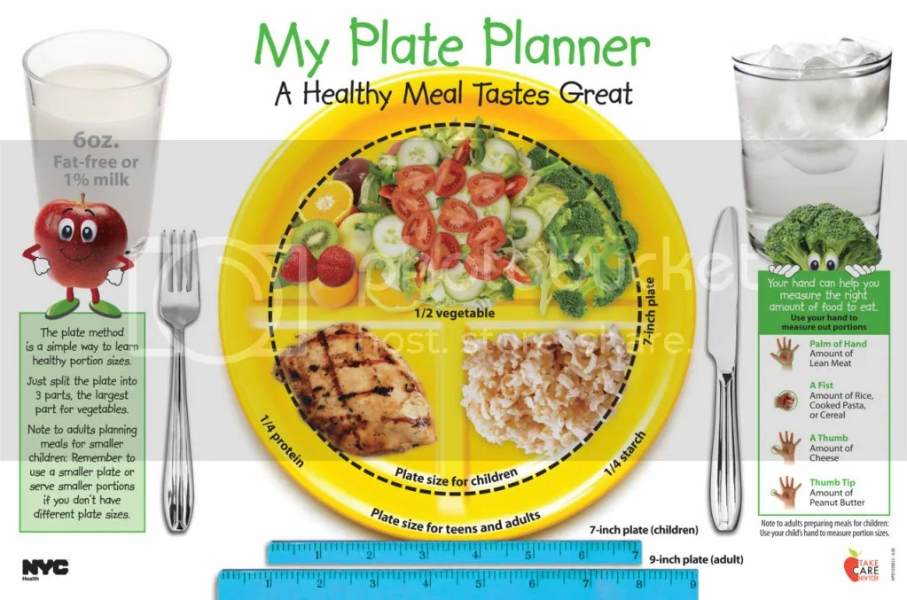 Plate planner - plan your healthy  meals