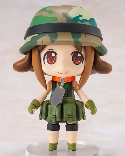 Frontal view of Nendoroid Army-san