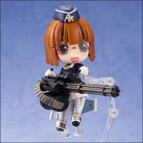 Nendoroid Jiei-tan: Ready for action!