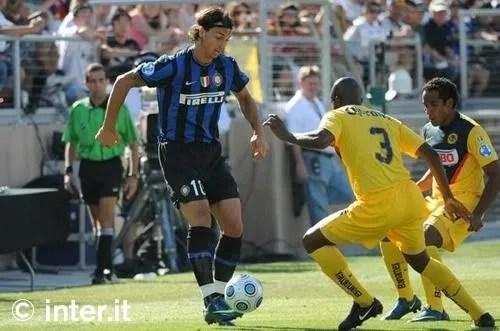 Ibrahimovic ketika bersama Inter