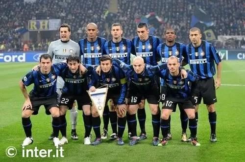 Skuad Inter Milan musim 2009/2010