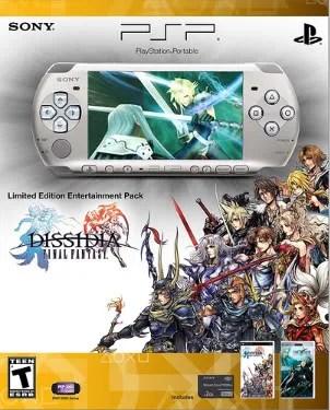 Paket PSP dan Dissidia Final Fantasy edisi terbatas