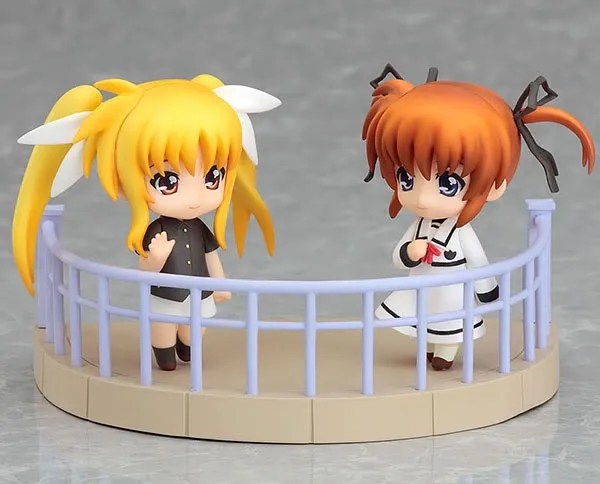 Nendoroid Petit Fate and Nanoha