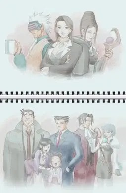 Phoenix Wright 3 - Character Sketch