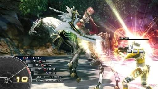 Adegan pertarungan dalam Final Fantasy XIII