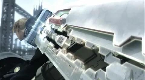 Trailer definisi tinggi FFVIIACC pada MPlayer