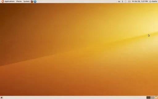 Desktop Ubuntu 9.10 Karmic Koala