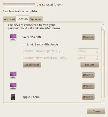 Konfigurasi Ubuntu One