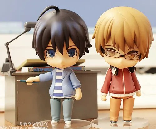 Nendoroid Saikou (left) and Shuujin (right)