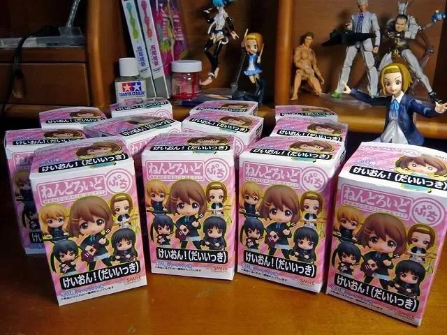 Nendoroid Petit K-ON! boxes
