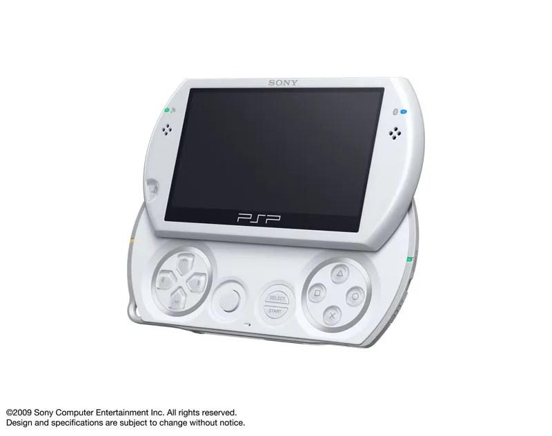 PSP Go berwarna putih