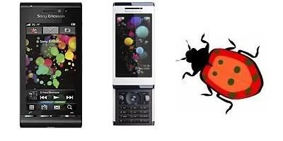 Sony Ericsson Satio dan Aino