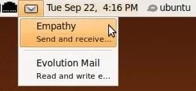 Tampilan notifikasi baru