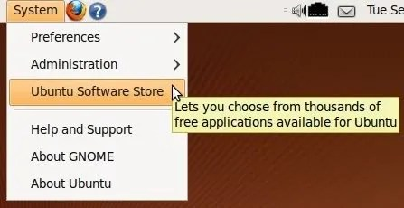 Ubuntu Software Store
