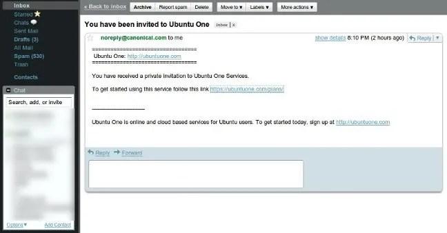 Akhirnya Datang Juga: Undangan Ubuntu One