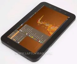 Ubuntu dijalankan pada Samsung Galaxy Tab