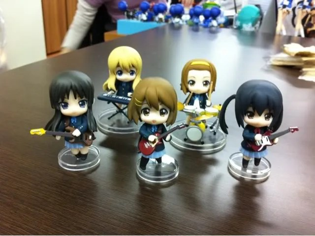 Nendoroid Petit K-ON! Set
