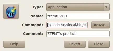 Jalankan ztemtEVDO dengan hak akses administrator