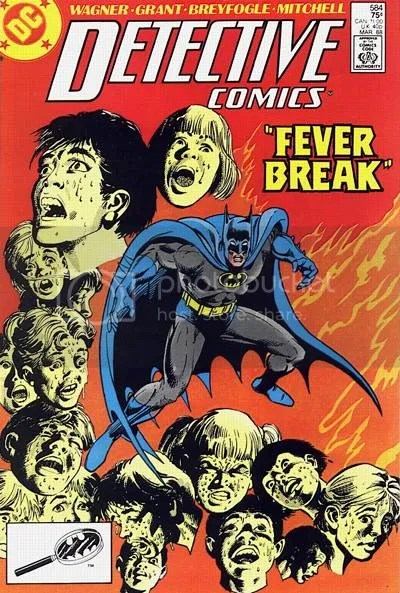 Detective Comics 584 by Dick Giordano