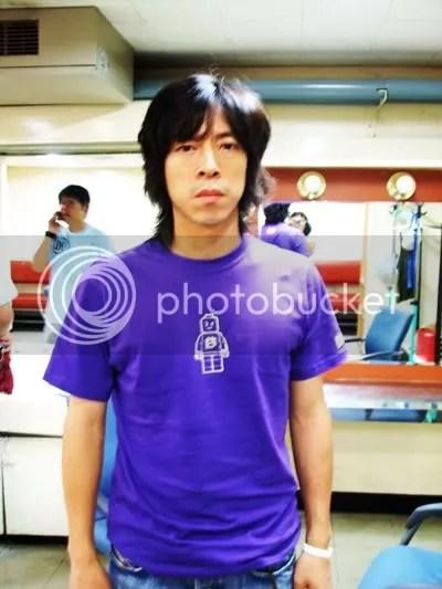 Kim C wearing a tshirt