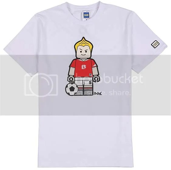 BANC white soccer t-shirt