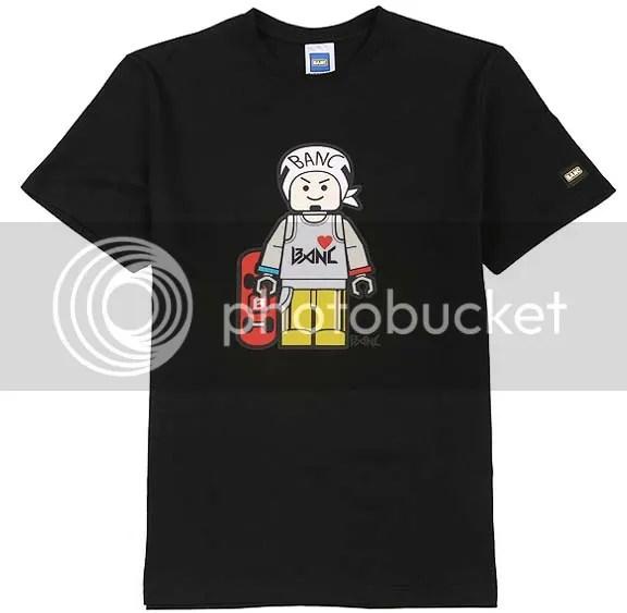 BANC black skateboard t-shirt
