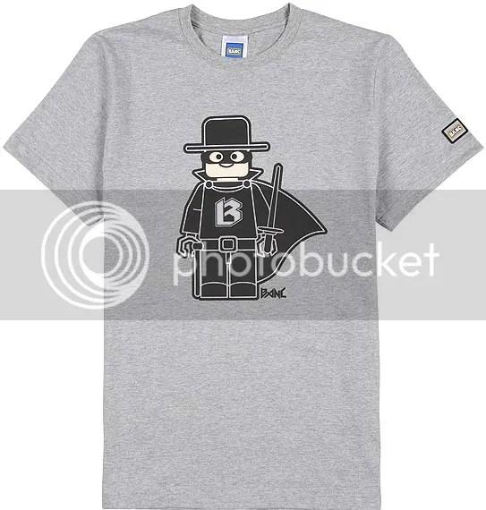BANC gray bzoro t-shirt