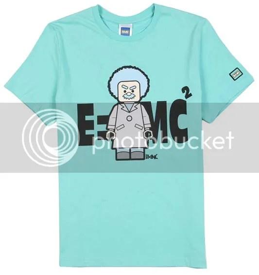 BANC mint Einstein t-shirt