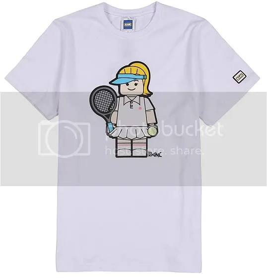 BANC white tennis t-shirt
