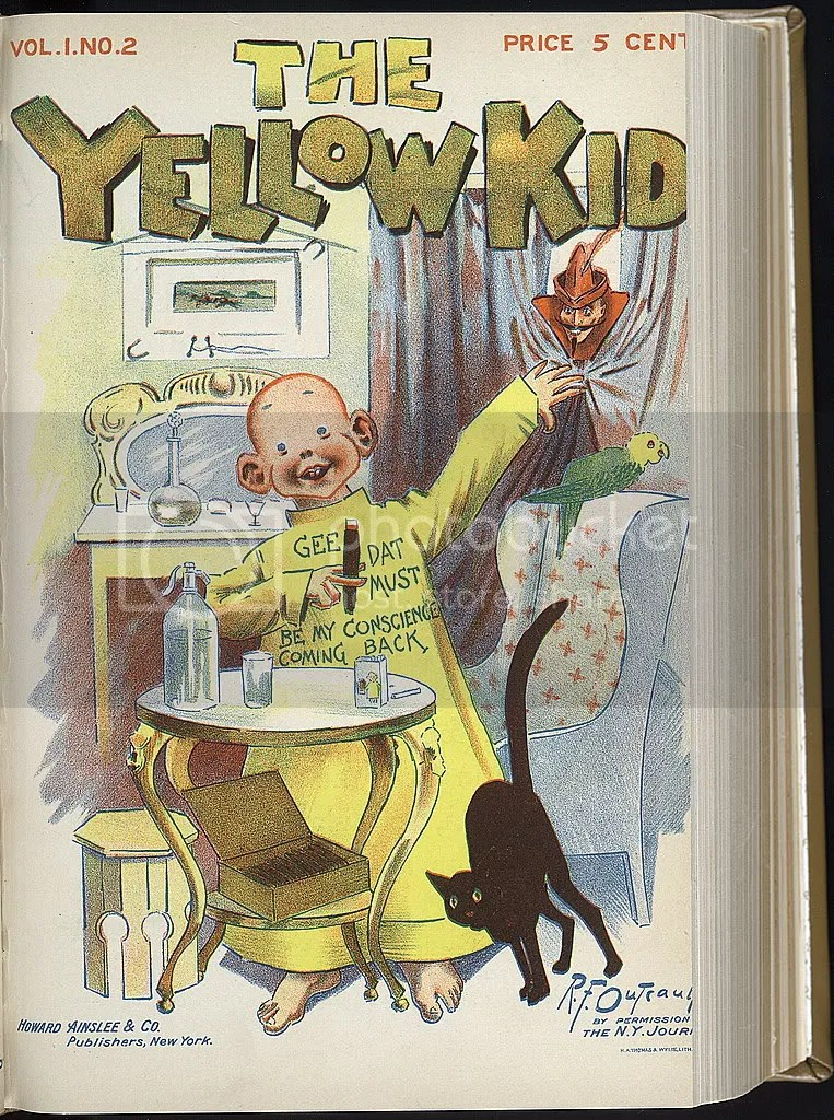 Yellow Kid First Comics Pictures, Images and Photos