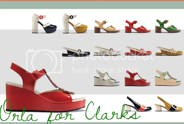 Orla Kiely for Clarks :: They're Here!