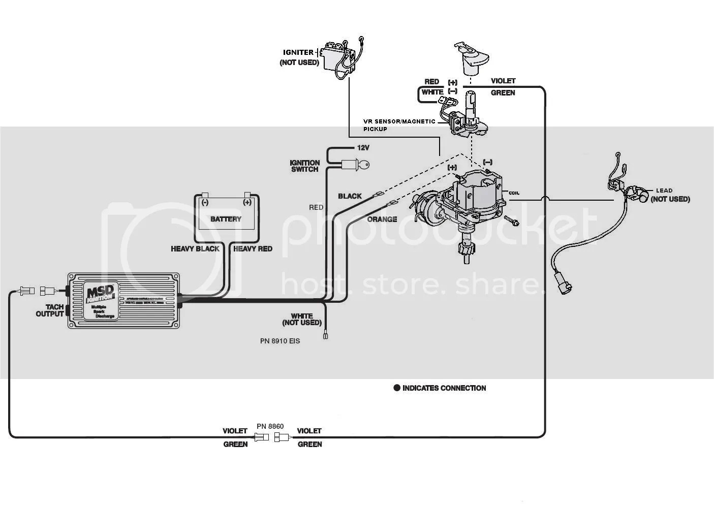 Mallory Distributor Wiring Diagram || Wiring Diagrams Home on