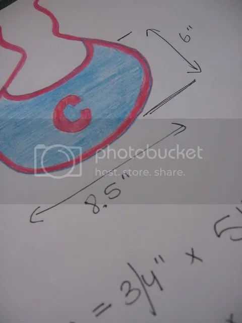 bib drawing