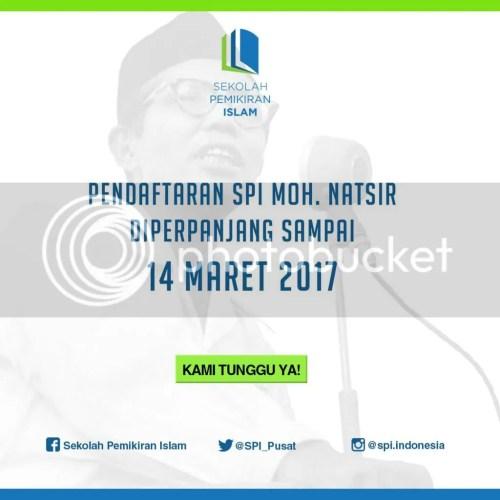 Pendaftaran SPI Moh. Natsir diundur sampai 14 Maret 2017.