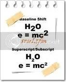 superscript dan subscript
