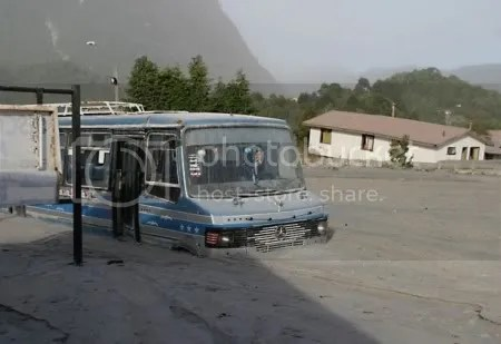 Chaitén town flooded. May 2008. © Copyright El Mercurio.