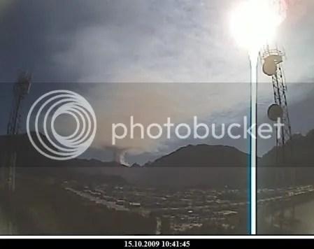 Chaiten volcano, 15 October 2009, 10:41