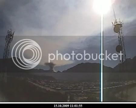 Chaiten volcano, 15 October 2009, 11:01
