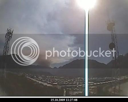 Chaiten volcano, 15 October 2009, 11:27