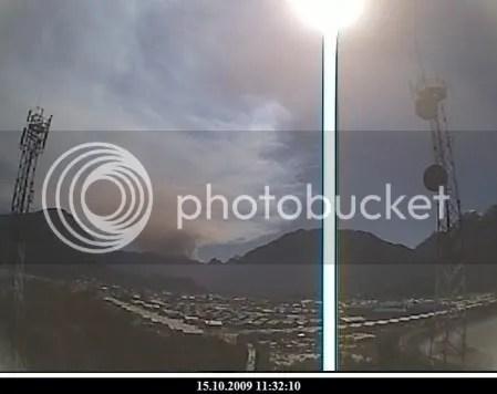 Chaiten volcano, 15 October 2009, 11:32