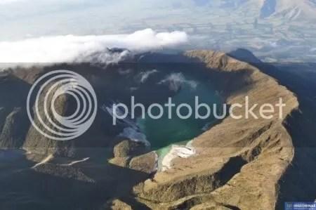 Azufral volcano, 15 February 2010 (INGEOMINAS)