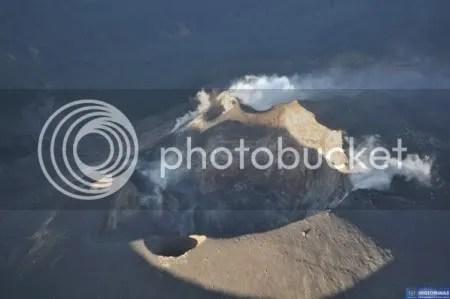 Galeras volcano, 15 February 2010 (INGEOMINAS)