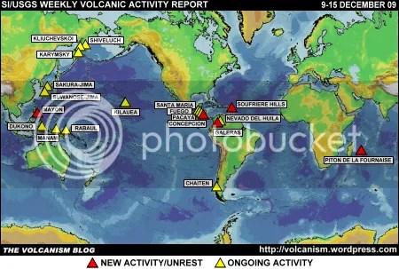 SI/USGS Weekly Volcanic Activity Report 9-15 December 2009