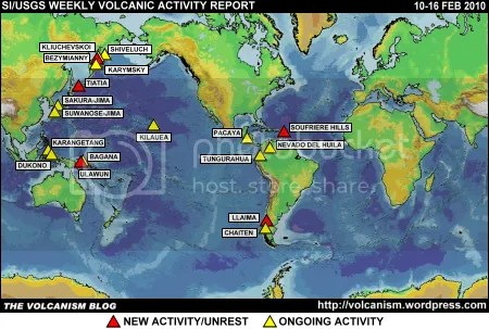 SI/USGS Weekly Volcanic Activity Report 10-16 February 2010