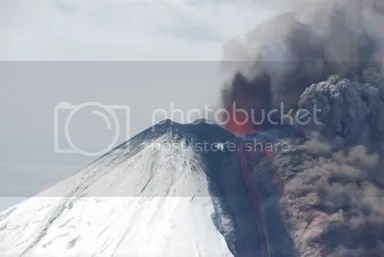 Llaima volcano, 4 April 2009, 14:00 (SERNAGEOMIN)
