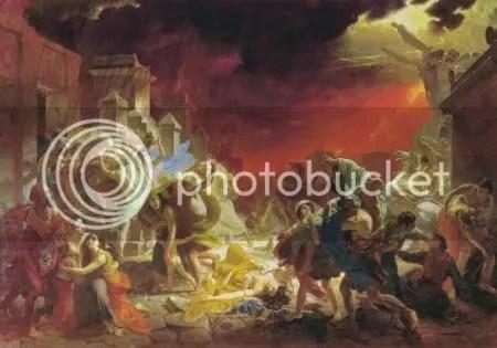 Karl Briullov, 'The last day of Pompeii' (1833)