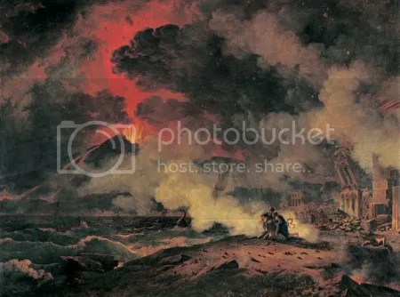 Pierre-Henri de Valenciennes, 'Eruption of Vesuvius' (1813)