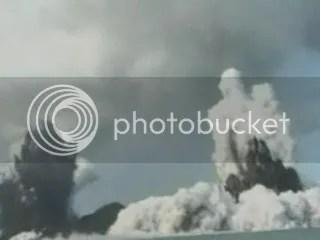 Hunga Tonga-Hunga Ha'apai eruption, 18 March 2009