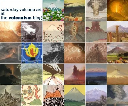 Saturday Volcano Art at The Volcanism Blog